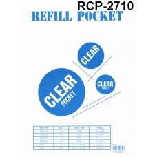 A'STAR Clear Pocket Refill RCP-2710
