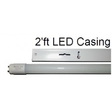 LED Tube Casing 2'ft T8-20w (1x10)