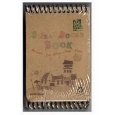 Spiral Notebook A7 50's RC5105-057