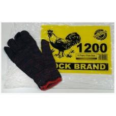 Cotton Hand Glove Cock 1200 (1x12)