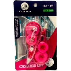 Ariston Correction Tape 2 in 1 (8m+8m)- ARCT 985R (1x24)