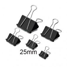 Binder Clip Black DL8354 -25mm (1x12)