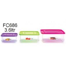 LAVA Food Container 3.6L FC-686 (1x12)