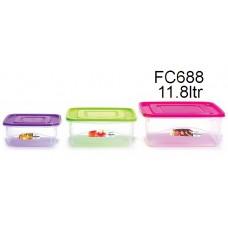 LAVA Food Container 11.8L FC-688 (1x12)