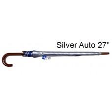"""Umbrella Silver Auto 27"""" K300UV (1x6)"""
