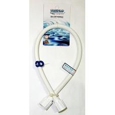Hose Connect PVC-RI 24in Truflo FHC-R11240-1THWHT (1x12)