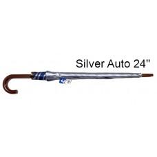 Umbrella UV Silver Auto 24'' K226UV (1x6)