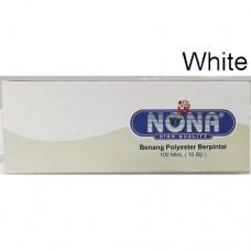 Benang Nona 100m White (1x10)