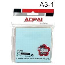Aopai Sticky Notes A3-1 (1x12)