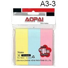 Aopai Sticky Notes A3-3 (1x12)