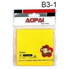 Aopai Sticky Notes B3-1 (1x12)