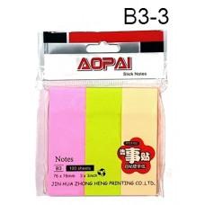 Aopai Sticky Notes B3-3 (1x12)
