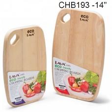 "ECO 14""Oval Chopping Board CHB193"