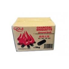 BBQ Charcoal 3 Kg (1x6)