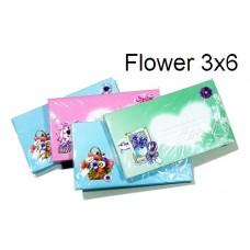 Flower Envelope 3x6 (1x20)