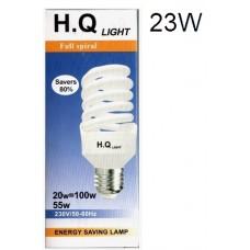 HQ Energy Saving 20w Spiral Lamp (1x10)