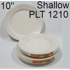 "AS Plate 10""Shallow PLT 1210 (6's) 1x3"