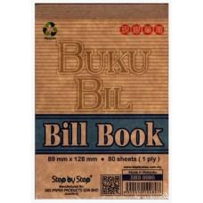 Mini Bill Book 3.5' x 5 '