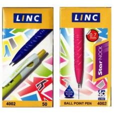 Ball Pen 4002 -0.7 Black (50pcs /Box)