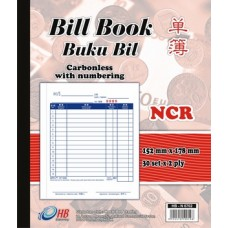 Bill Book NCR Numberling DL-N6702