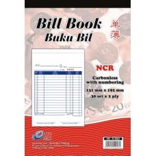 Bill Book NCR Numberling HB-N5802