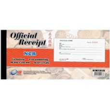Offical Receipt Book NCR Numbering HB-2502