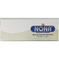 Benang Nona 100m Black ( 10pcs /Box )