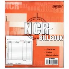 "Bill Book NCR 7.5x7"" 20x3 BB-F75753"
