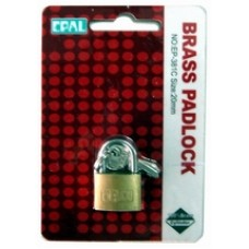 Brass Padlock Epal EP 381C - 20mm