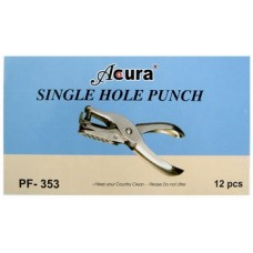 Acura One Hole Punch 353