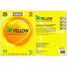 IK Yellow Photostat Paper A4 -70g ( 500's )