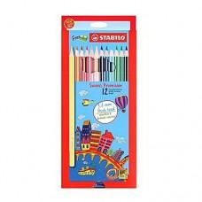 Swans Colour Pencil 3.8 Premium 12L 1867B