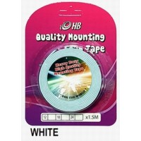 Foam Tape 12mm x 1.5M White