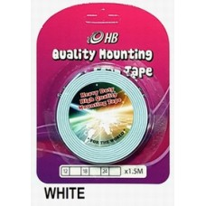 Foam Tape 18mm x 1.5M White