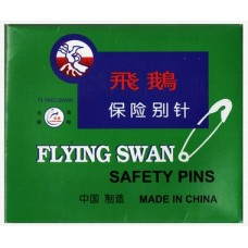 Swans Safety Pin-Silver 012 (Original)