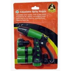 KingKong Adj Spray Nozzle 4's Set 985421
