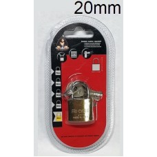 KINGKONG 985000 Brass Padlock 20mm (1x12)