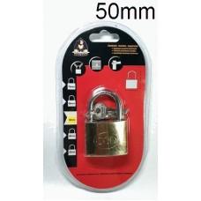 KINGKONG 985004 Brass Padlock 50mm (1x6)