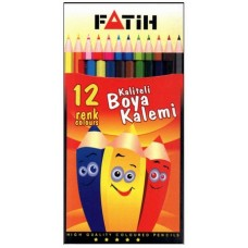 Fatih Colour Pencil 12-L
