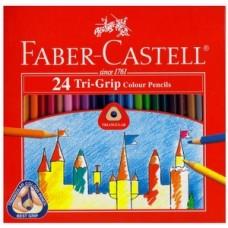 Faber Castell TRI Colour Pencil 24L 115834