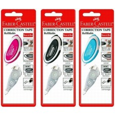 Faber Castell Correction Tape W/Refill -169102