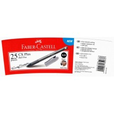 Faber Castell Ball Pen CX Plus 0.5 Black 541198