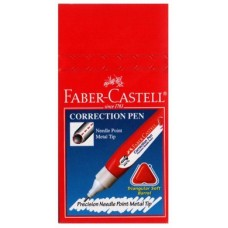 Faber Castell Correction Pen 8ml (12pcs /Box)