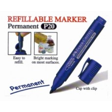 Faber Castell RF Marker P20 Bullet 254151 Blue