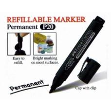 Faber Castell RF Marker P20 Bullet 254199 Black
