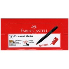 Faber Castell SLIM Permanent Marker Red