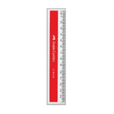Faber Castell Plastic Ruler 15cm