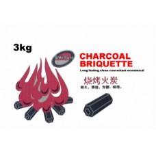 BBQ Charcoal 3 Kg ( 6box /Ctn )
