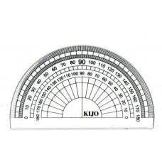 Protactor Ruler 180