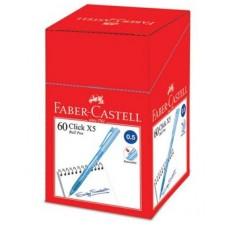 Faber Castell Click X5 Ball Pen 0.5 Blue (1x60)